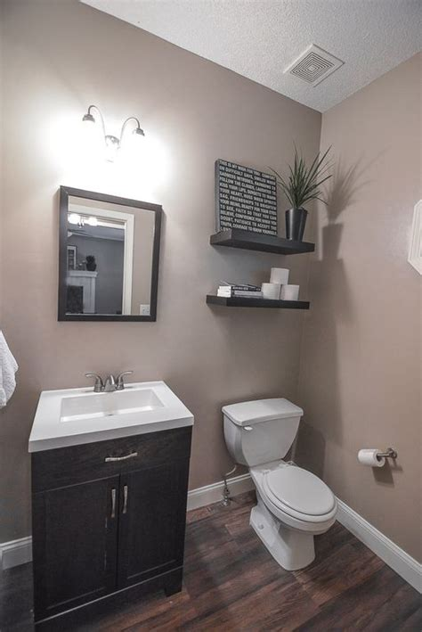 Low Cost Backsplash Ideas - great traditional powder room zillow digs