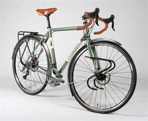 Handmade Bicycles Usa - steel touring bike frame style by modernstork