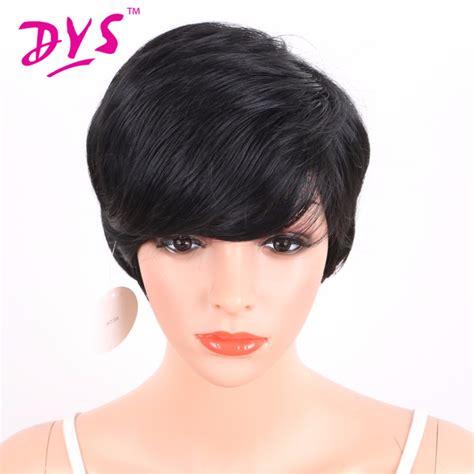 pixie wigs for women deyngs women s wig short pixie cut synthetic wigs for