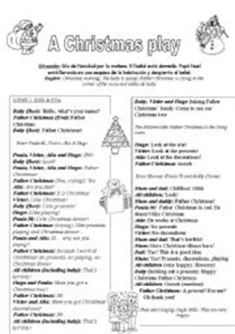free christmas skit for kids worksheet a play 3 6