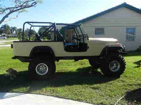 jeep scrambler 4 door find used 1984 jeep scrambler base sport utility 2 door 4