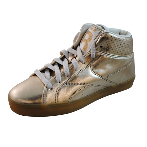 gold sneakers mens reebok mens t raww gold fashion sneakers v56249 ebay