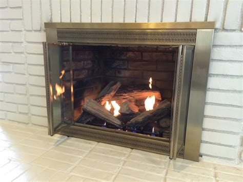 How Does A Gas Log Fireplace Work by Ventless Fireplace Insert Takes The Chill Winter