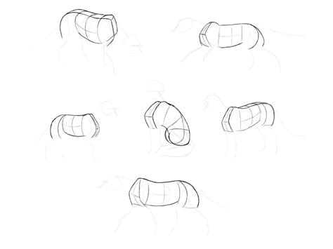 doodle drawing step by step how to draw a fox step by step