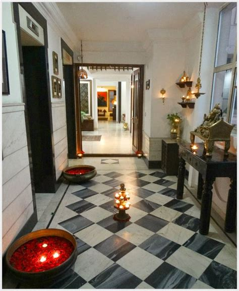 deepavali decorations home diwali decoration for the entryway or foyer decor ideas