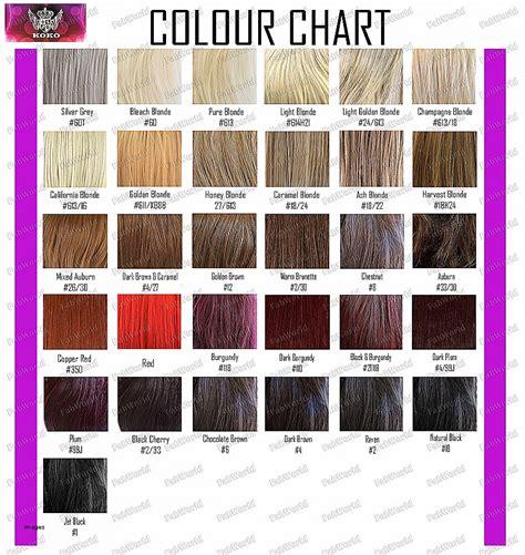 ion brilliance demi color chart hair colors ion demi