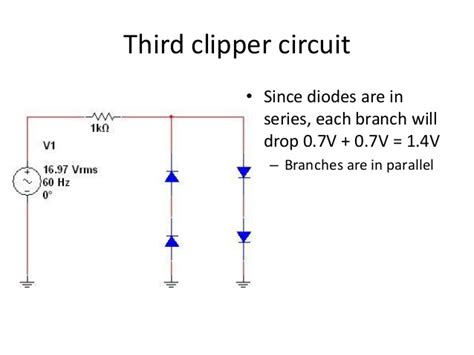 diode limiters and clers diode clippers 28 images zener diode as voltage regulator tutorial clippers electronic