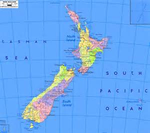 geography blog detailed map of new zealand