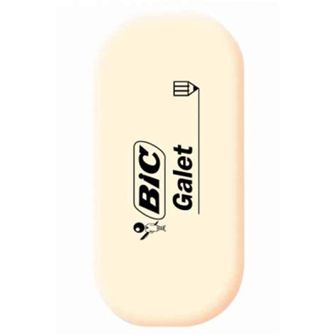 bic banche gomme blanche bic galet arpaca