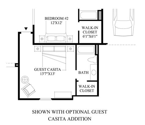 casita floor plans az toll brothers at los saguaros the montilla home design
