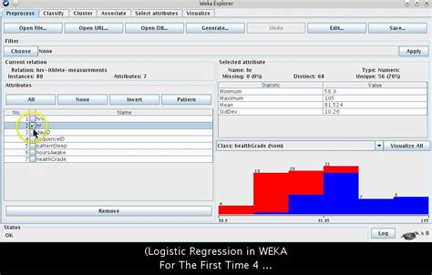 Tutorial Java Data Mining | weka data mining tutorial for first time beginner users