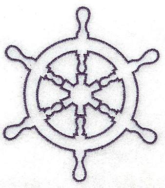 boat wheel outline ship s wheel outline small production ready artwork for