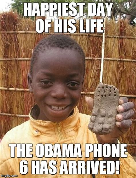 Obama Phone Meme - obama phone 6 imgflip