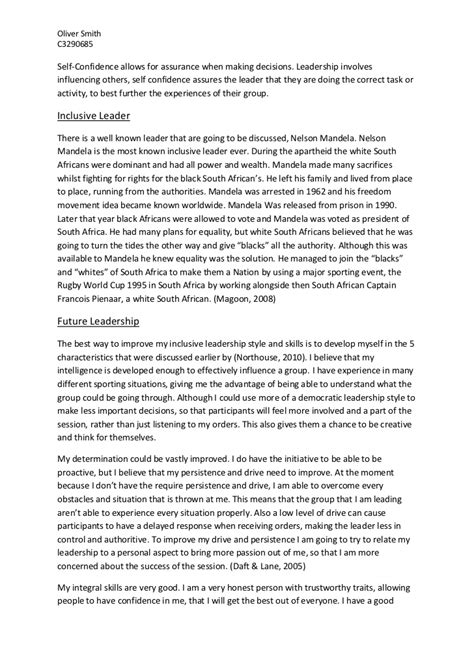 what is a good leader essay assess the leadership qualities of