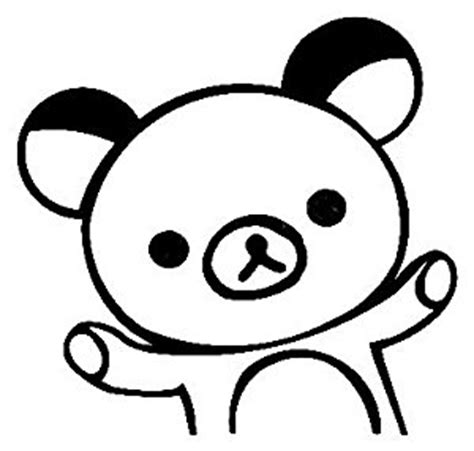 rilakkuma characters coloring pages coloring pages