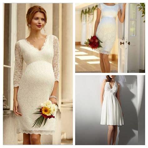 vestido novia civil corto listado de vestidos de novia para embarazadas