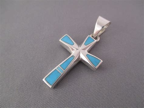 American Cross Search Navajo Indian Jewelry Turquoise Silver American Concho Belt Models Picture