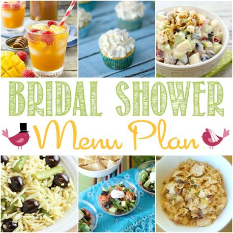 easy recipes for bridal shower bridal shower menu cooking with curls