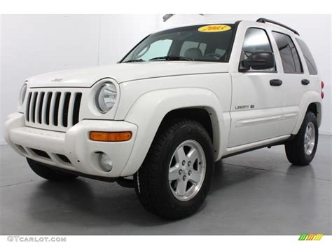 jeep liberty white 2003 stone white 2003 jeep liberty limited 4x4 exterior photo