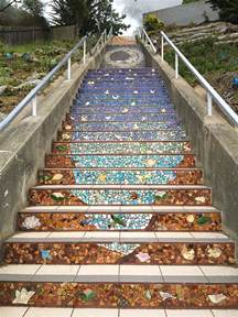 Tiled Stairs San Francisco by 16th Avenue Tiled Steps Golden Gate Heights San Francisco