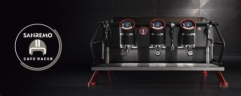 Sanremo Coffee Maker cafe racer sanremo commercial coffee machines
