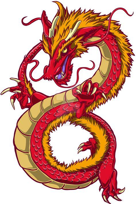 Chinese dragon by ausagi on deviantart