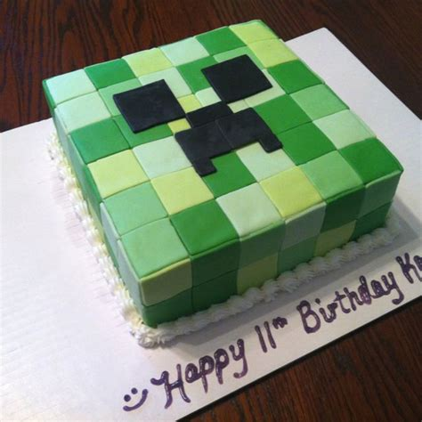 How To Decorate A Minecraft Cake by Best 25 Minecraft Cakes Ideas On