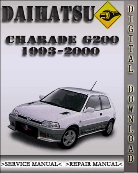 service manual how to work on cars 1993 gmc suburban 2500 user handbook sell used 1996 gmc 1993 2000 daihatsu charade g200 factory service repair