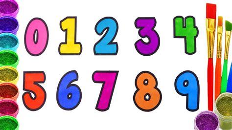 imagenes infantiles numeros como dibujar y colorear los n 250 meros aprende los n 250 meros