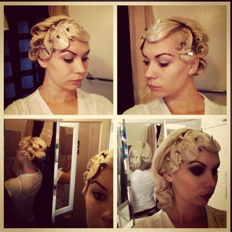 1920s hair styles with s wave curler san francisco ca finger waves vintage 1920 s pincurls pictorial retro