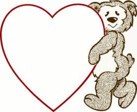teddy bear holding a heart cliparts co