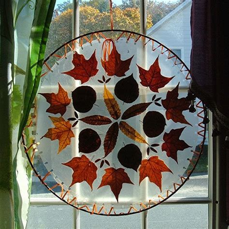 diy welcome the fall with autumn leaves in home d 233 cor