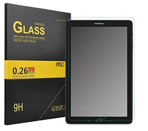 K Box Tempered Glass Samsung Tab A 10 1 Inch T580 ivso galaxy tab a 10 1 with s pen screen protector tempered glass protector with scratch