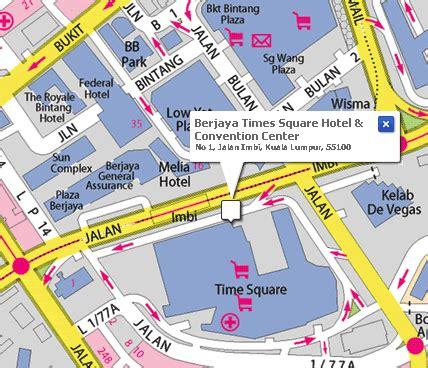 times square map berjaya times square hotel and convention center kuala lumpur malaysia