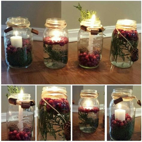 1000 images about mason jars winter centerpieces on pinterest