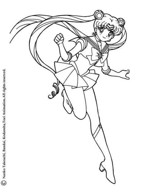 sailor moon coloring pages games sailor moon skipping coloring pages hellokids com