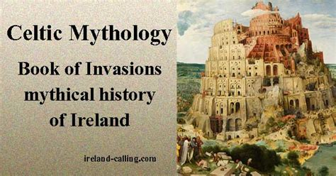 A History Of Ireland book of invasions mythical history ireland calling