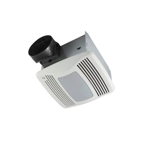 bathroom exhaust fan with humidity sensor and light nutone qtxen series 110 cfm ceiling humidity