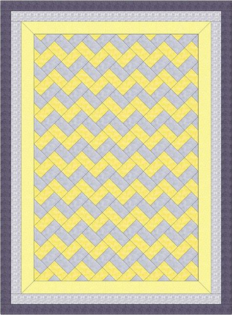 Chevron Quilt Pattern No Triangles by The World S Catalog Of Ideas