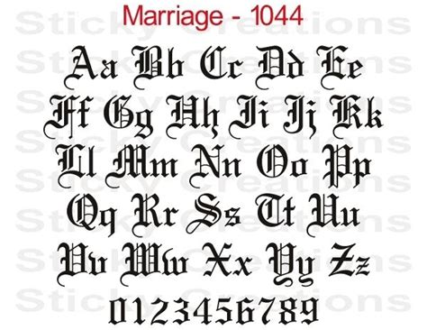 a dark wedding font 1044 custom fancy letters windshield graphic customized