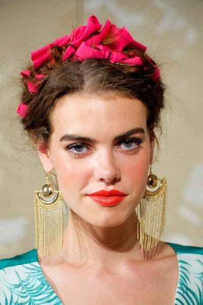 Frida Kahlo Hairstyle by Frida Kahlo Hair Search Hair And Makeup