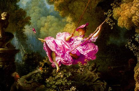 Fragonard The Swing 1766 by Jackie Gleason Theatre