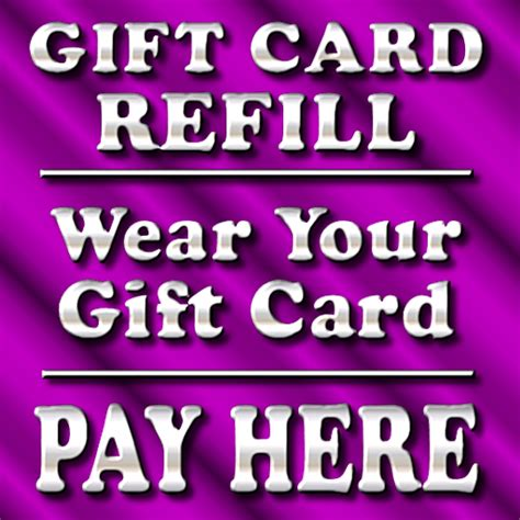 Refillable Gift Card - od designs how to buy