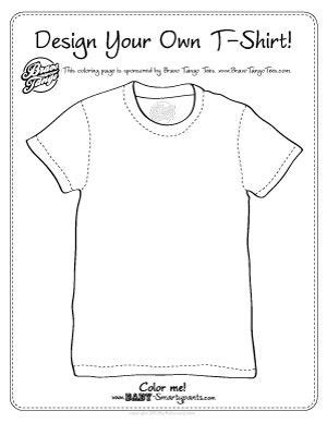 Coloring T Shirts Google Search T Shirts Coloring Pinterest Worksheets School Age Create Your Own Worksheet Template