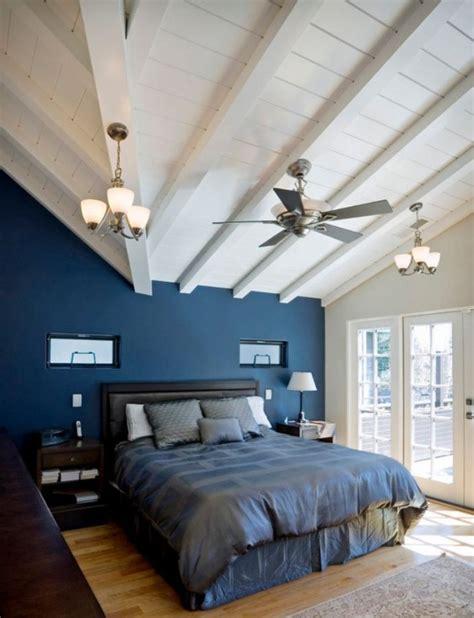 Blue Ceiling Green Walls by 12 Id 233 Es Pour Une D 233 Coration De Chambre En Bleu Marine