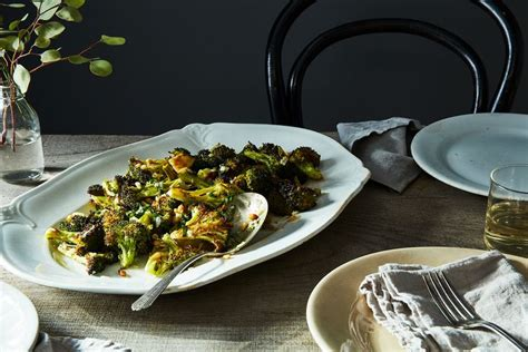 parmesan roasted broccoli ina garten ina garten s parmesan roasted broccoli recipe on food52
