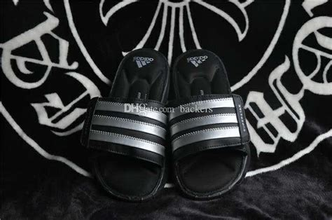 2016 original adidas slippers flip flops superstar slipper for summer fashion leather