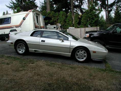 lotus esprit 1988 pearl white turbo 1988 lotus esprit bring a trailer