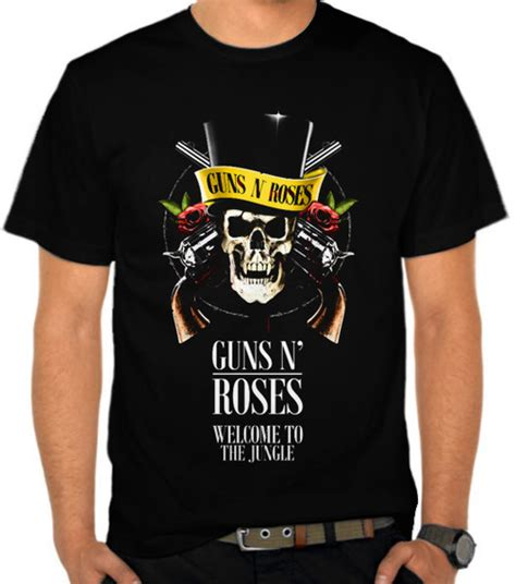 Kaos Guns N Roses Gnr3 jual kaos guns n roses welcome to the jungle guns n