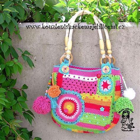 Handmade Crochet Bags And Purses - handmade crochet bags and purses crochet embroidery